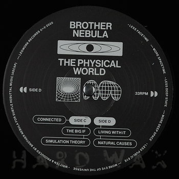 Cover art - Brother Nebula: The Physical World