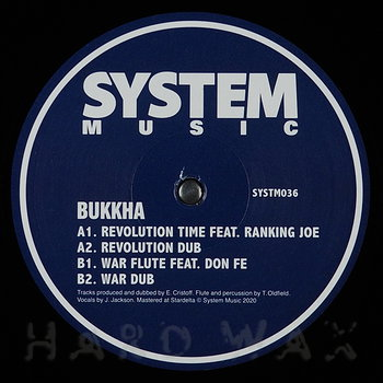 Cover art - Bukkha: Revolution Time
