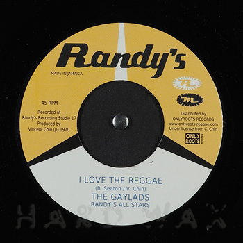 Cover art - The Gaylads: I Love The Reggae