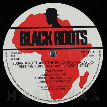 Cover art - Sugar Minott & The Black Roots Players: Meet The People In A Lovers Dubbers Style