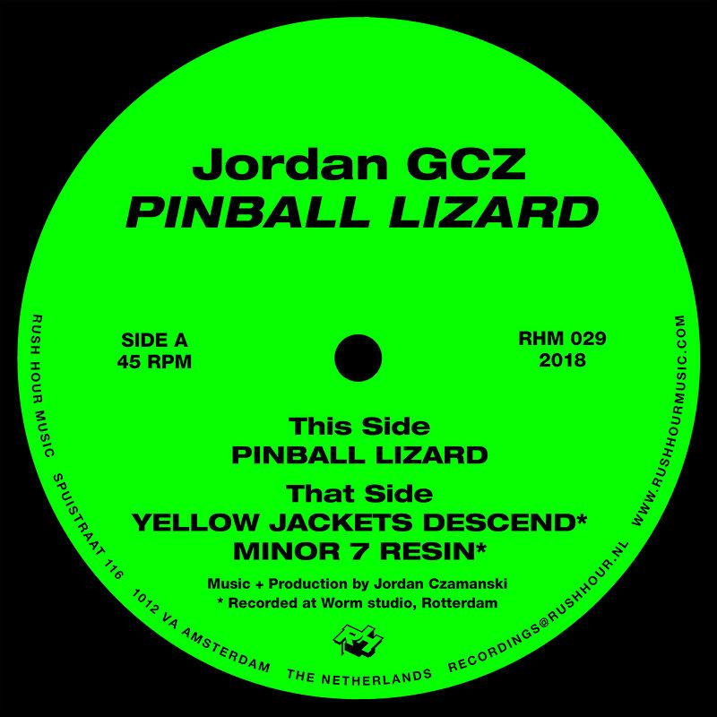 Cover art - Jordan GCZ: Pinball Lizard