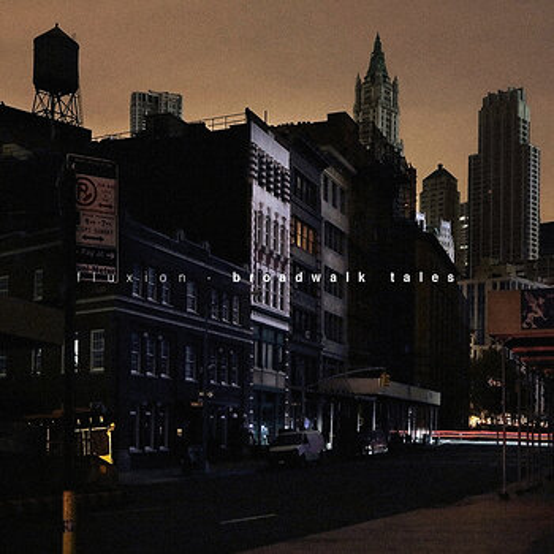 Cover art - Fluxion: Broadwalk Tales