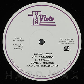 Cover art - The Paragons: Riding High