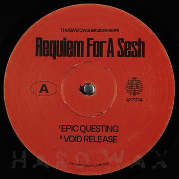 Cover art - Thugwidow & Bruised Skies: Requiem For A Sesh