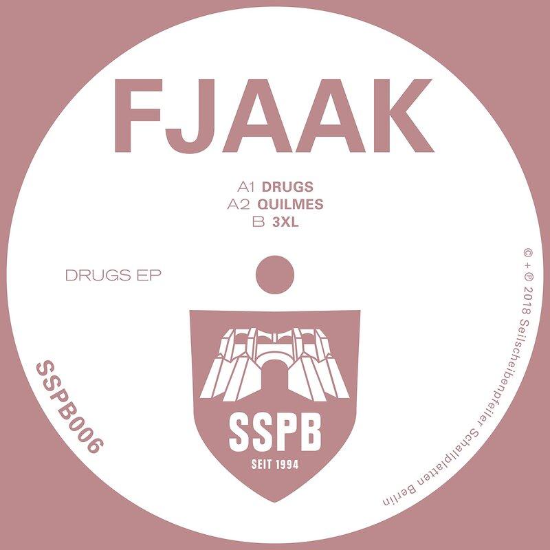 Cover art - Fjaak: Drugs EP
