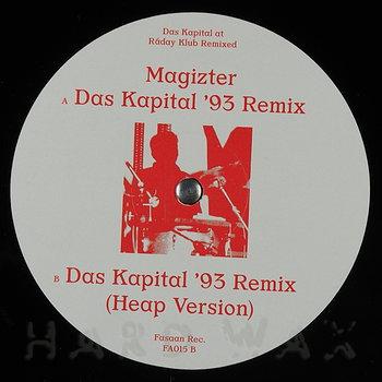 Cover art - Magizter: Das Kapital At Raday Klub Remixed