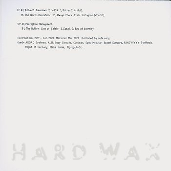 Cover art - Russell Haswell: Digital