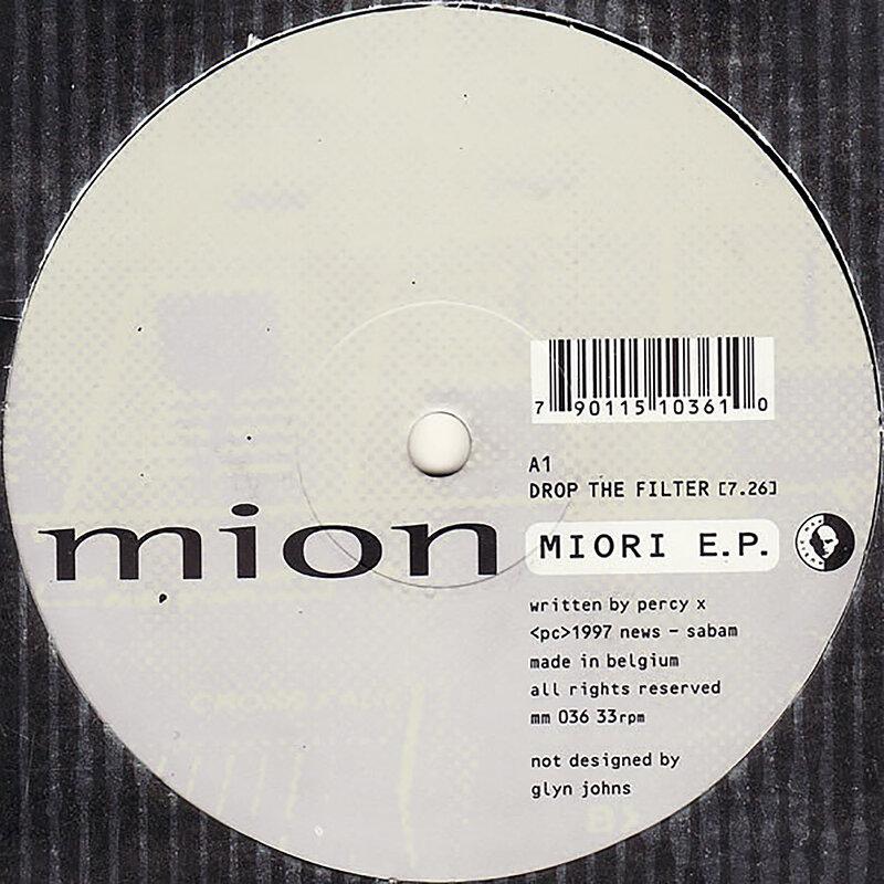 Cover art - Mion: Miori EP
