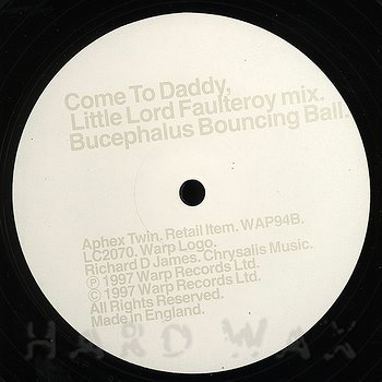 Cover art - Aphex Twin: Come To Daddy