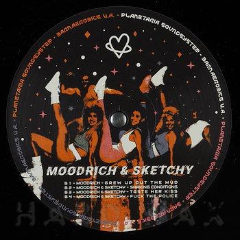 Cover art - DJ Karawai / Moodrich & Sketchy: Barnaerobics