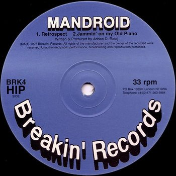 Cover art - Mandroid: Retrospect