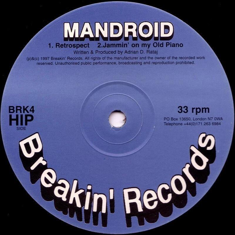 Cover art - Mandroid: Retrospect