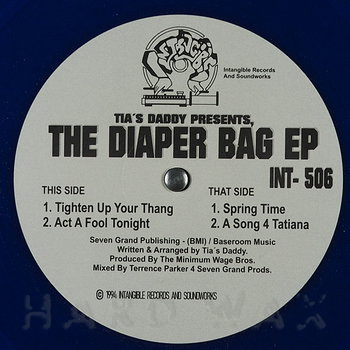 Cover art - Tia's Daddy: The Diaper Bag EP