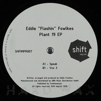 Cover art - Eddie 'Flashin' Fowlkes: Plant 19 EP