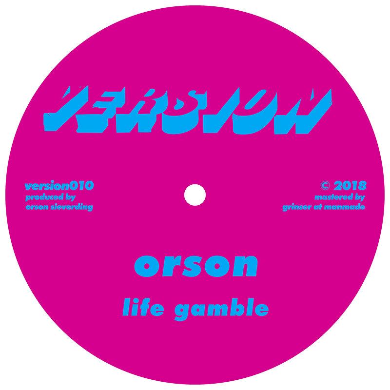 Cover art - Orson: Life Gamble