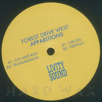 Cover art - Forest Drive West: Apparitions