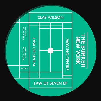 Cover art - Clay Wilson: Law of Seven