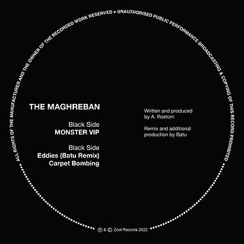 Cover art - The Maghreban: Monster VIP
