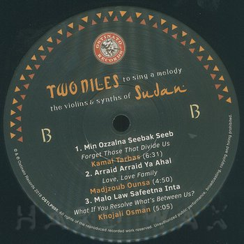 Cover art - Various Artists: Two Niles To Sing A Melody: The Violins & Synths Of Sudan
