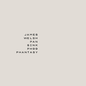 Cover art - James Welsh: Pan/Sink