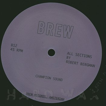 Cover art - Robert Bergman: Champion Sound
