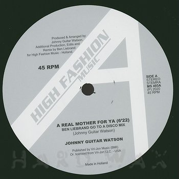 Cover art - Johnny Guitar Watson: A Real Mother For Ya (Remixes)