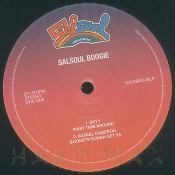 Cover art - Various Artists: Salsoul Boogie