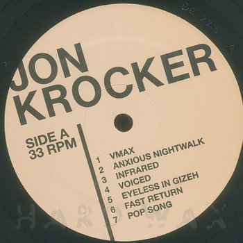 Cover art - Jon Krocker: Monolog
