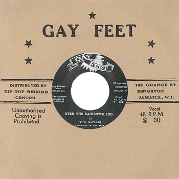 Cover art - The Gaylads & Leslie Butler: Over The Rainbow's End