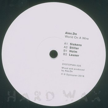 Cover art - Alex.Do: World On a Wire