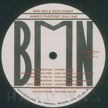 Cover art - Various Artists: Ska & Rocksteady: Always Together 1964-1968