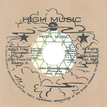 Cover art - Anthony Chambers & High Times Players: Jah Foundation