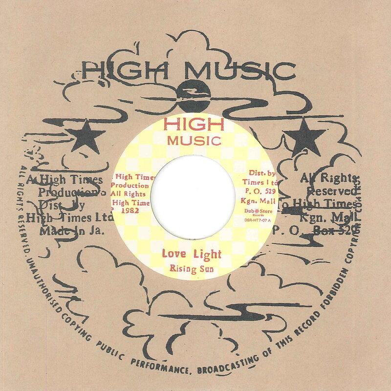 Cover art - Rising Sun & High Times Players: Love Light