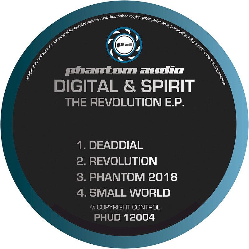 Cover art - Digital & Spirit: The Revolution