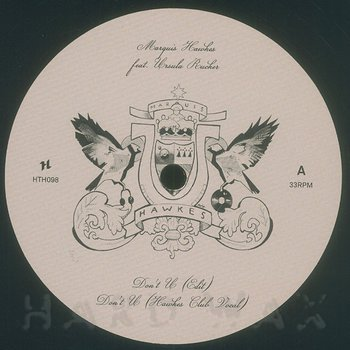 Cover art - Marquis Hawkes: Don't U (feat. Ursula Rucker)