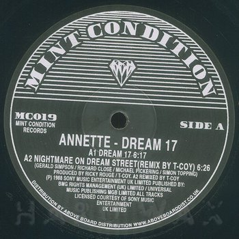Cover art - Annette: Dream 17