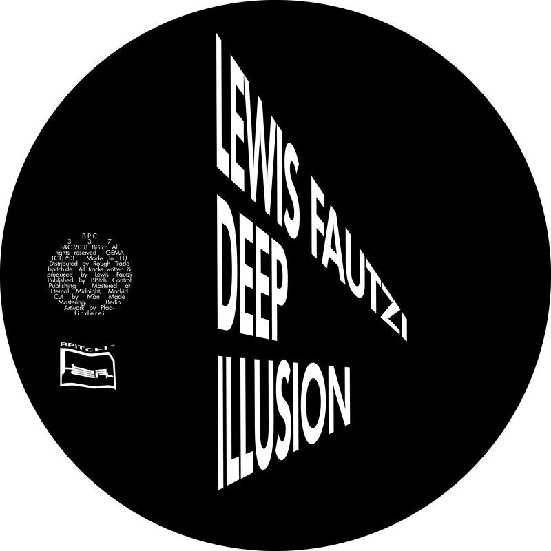 Cover art - Lewis Fautzi: Deep Illusion