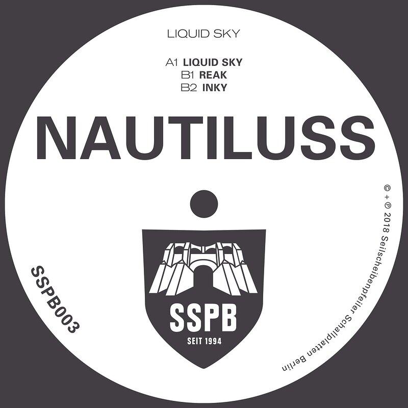 Cover art - Nautiluss: Liquid Sky