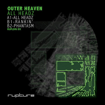 Cover art - Outer Heaven: All Headz