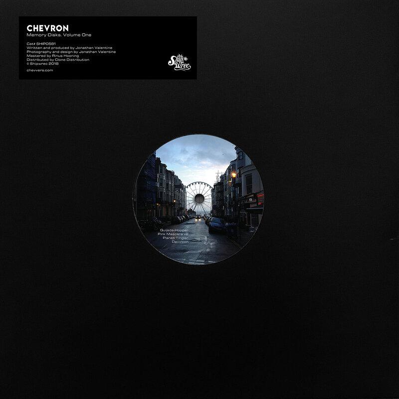 Cover art - Chevron: Memory Disks. Volume One.