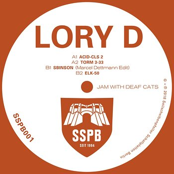 Cover art - Lory D: Jam With Deaf Cats