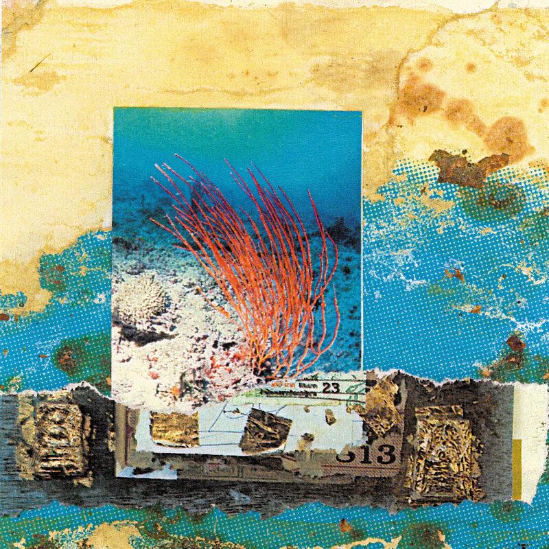 Cover art - Mike Cooper: New Kiribati