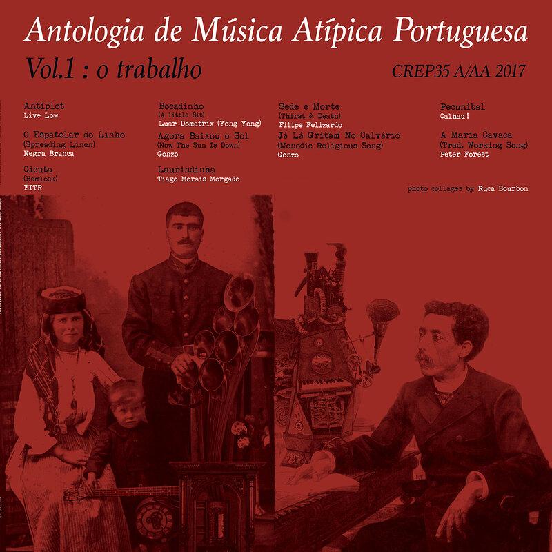 Cover art - Various Artists: Antologia de Música Atípica Portuguesa