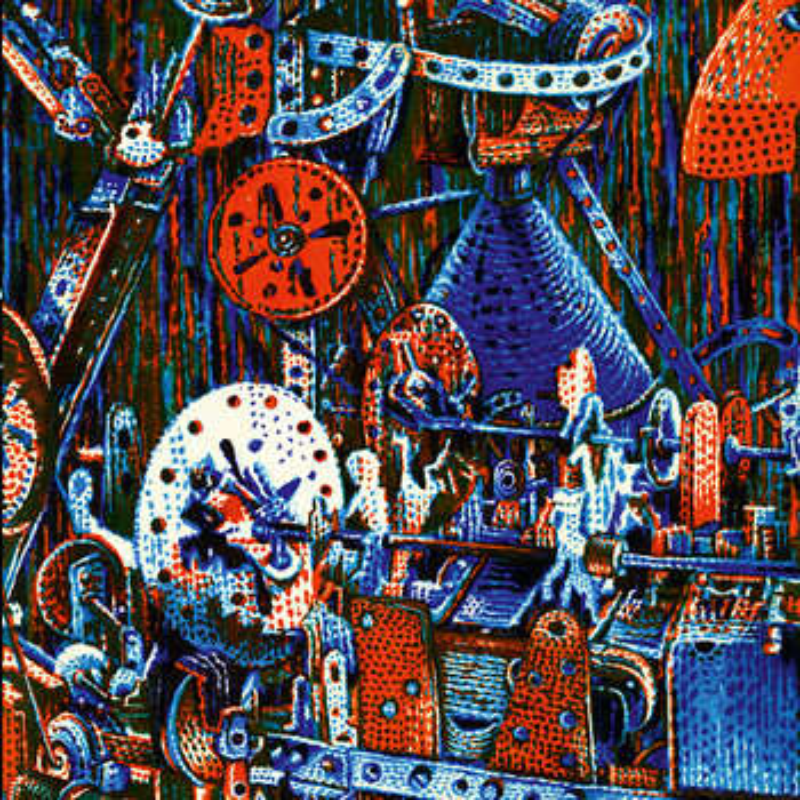 Cover art - Pierre Bastien: The Mecanocentric Worlds of Pierre Bastien (Live)