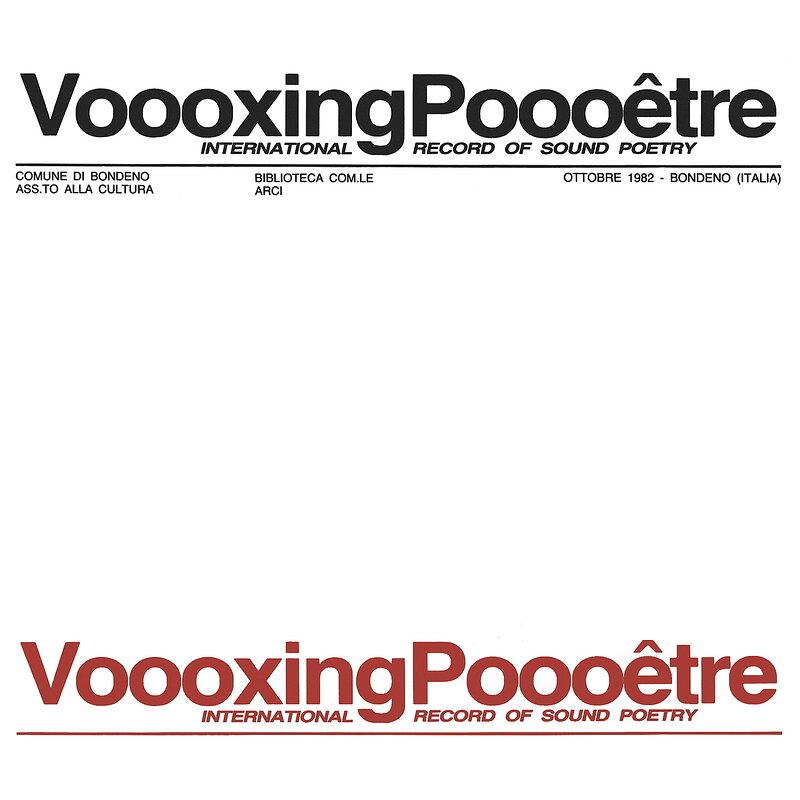 Cover art - Various: Voooxing Poooêtre