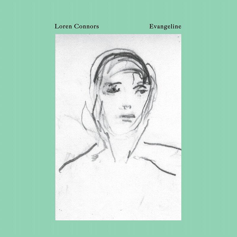 Cover art - Loren Connors: Evangeline