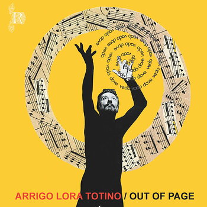 Cover art - Arrigo Lora-Totino: Out Of Page