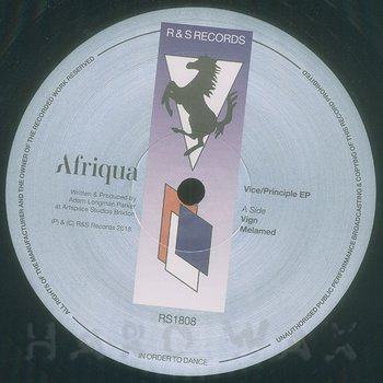 Cover art - Afriqua: Vice/Principle EP