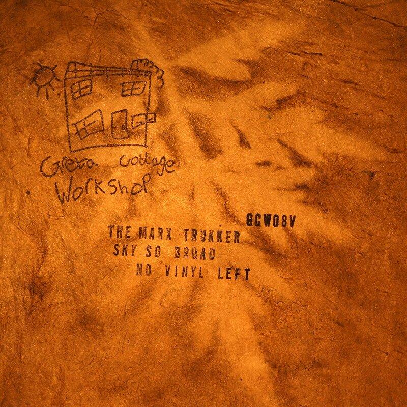 Cover art - The Marx Trukker: Sky so Broad, No Vinyl Left