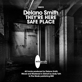 Cover art - Delano Smith: They're Coming / Safe Place